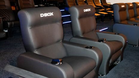 VIP D-Box Motion Seats